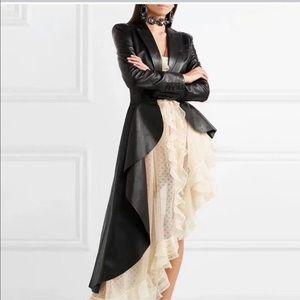 Very chic, asymmetrical coat